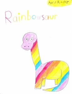Rainbowsaur